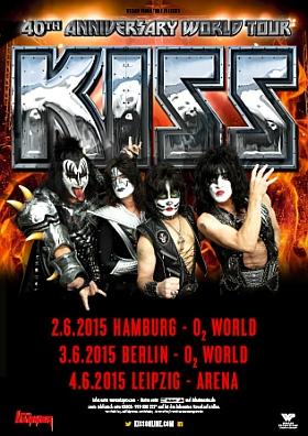KISS 40th Anniversary Tour 2015