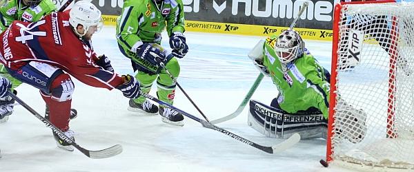 Hamburg Freezers Straubing Tigers Eishockey DEL 2015