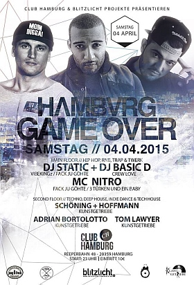 Game Over Club Hamburg 2015