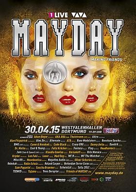 Mayday 2015 Westfalenhallen Dortmund