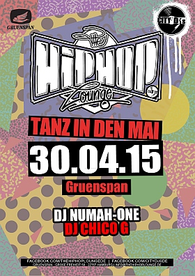 The Hip Hop Lounge Gruenspan Hamburg 2015