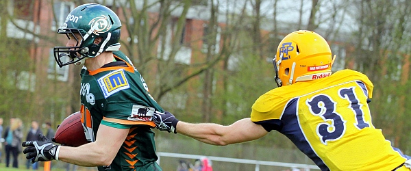 Elmshorn Fighting Pirates Kiel Baltic Hurricanes GFL 2015