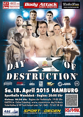 Day of Destruction 10 Sporthalle Hamburg Wandsbek