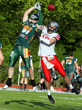 Hamburg Huskies Kiel Baltic Hurricanes GFL 2015