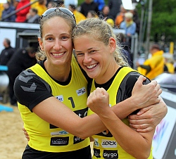 smart beach tour Hamburg Moorweide 2015 Volleyball