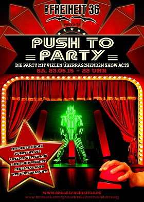Push to Party Grosse Freiheit 36 Hamburg 2015