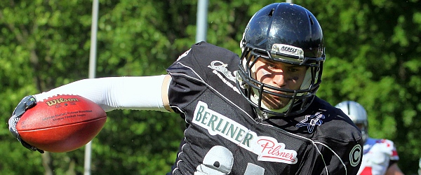 Hamburg Huskies Berlin Rebels Football GFL 2015