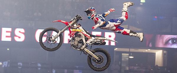 Night Jumps Freestyle Motocross FMX 2015 Hamburg