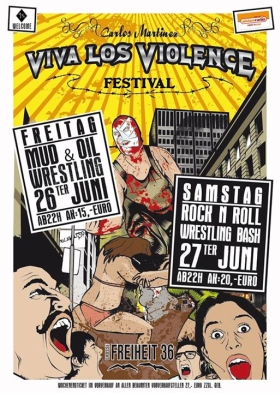 Viva Los Violence Festival 2015 Hamburg