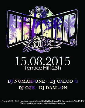 The Hip Hop Lounge Terrace Hill Hamburg 2015