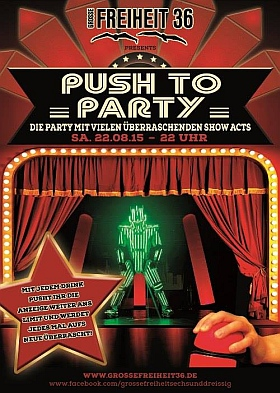 Push to Party Grosse Freiheit Hamburg 2015