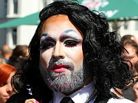 Christopher Street Day Parade CSD 2015 Hamburg