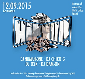 The Hip Hop Lounge 2015 Gruenspan Hamburg
