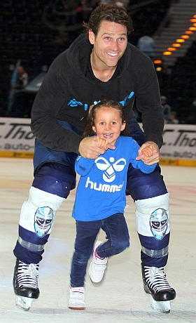 Hamburg Freezers Herning Blue Fox Eishockey 2015