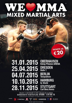 We love MMA 2015 Hamburg