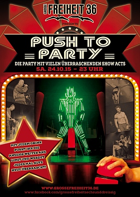 Push to Party 2015 Grosse Freiheit 36 Hamburg