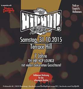 7 Jahre The Hip Hop Lounge 2015 Terrace Hill Hamburg