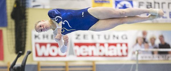 Deutschland Pokal 2015 Turnen Nordheidehalle Buchholz