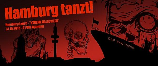 Hamburg tanzt Halloween 2015 Cap San Diego