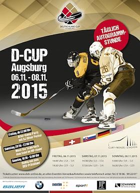 Deutschland Cup 2015 Eishockey Augsburg