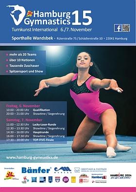 Hamburg Gymnastics 2015 Sporthalle Wandsbek Hamburg