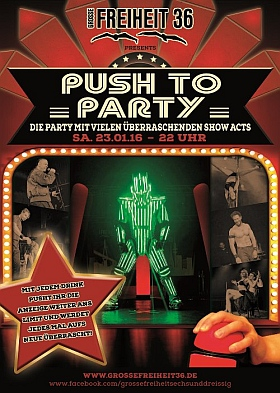 Push to Party 2016 Grosse Freiheit 36 Hamburg