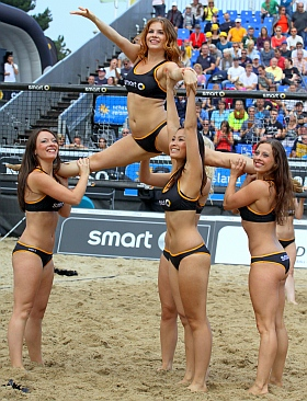 Deutsche Beach Volleyball Meisterschaft 2015 smart girls Timmendorfer Strand