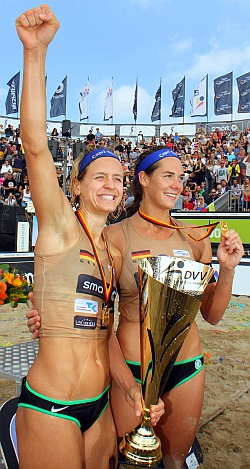 Deutsche Beach Volleyball Meisterschaft 2015 Timmendorfer Strand