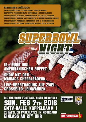 Super Bowl Nacht Elmshorn 2016