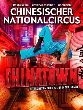 Chinesischer Nationalcircus Chinatown 2016