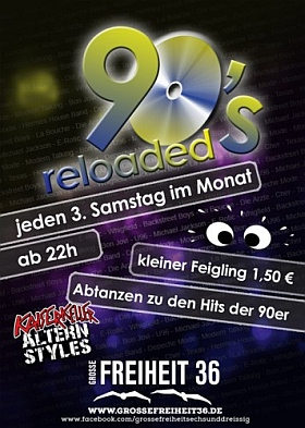 90s Reloaded Grosse Freiheit 36 Hamburg