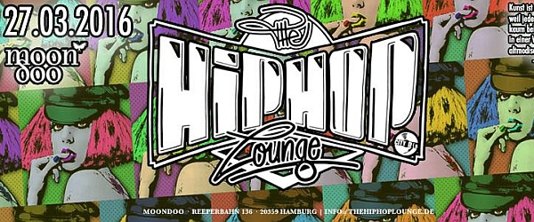The Hip Hop Lounge Art Experience 2016 Moondoo Hamburg