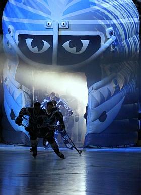 Hamburg Freezers Adler Mannheim Eishockey DEL 2016