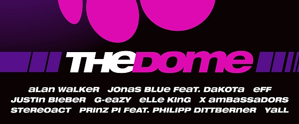 The Dome 77 Musik 2016
