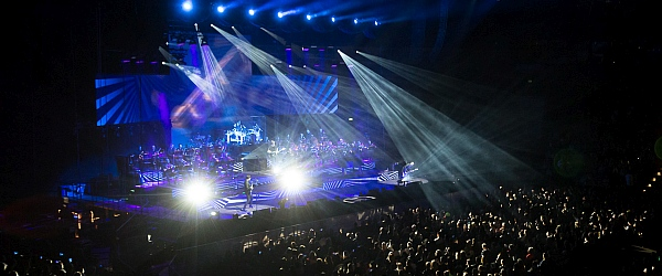 Sunrise Avenue Konzert Orchester Arena Hamburg 2016