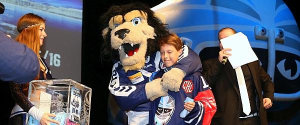 Hamburg Freezers Saisonabschluss Eishockey DEL 2016