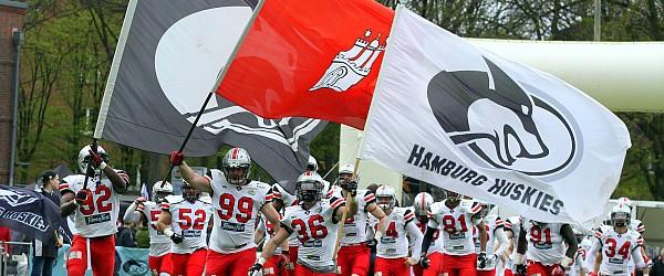 Hamburg Huskies Kiel Baltic Hurricanes Football EFL 2016