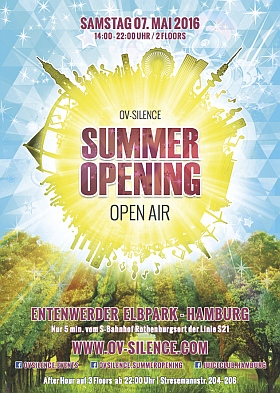 ov silence Summer Opening Entenwerder Elbpark Hamburg 2016