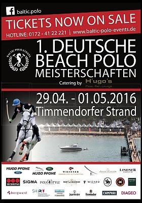 Deutsche Beach Polo Meisterschaften 2016 Timmendorfer Strand