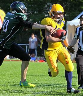 Elmshorn Fighting Pirates Oldenburg Knights Football 2016