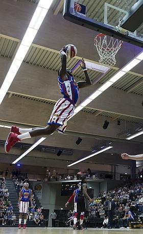 Harlem Globetrotters Basketball Hamburg Inselparkhalle 2016