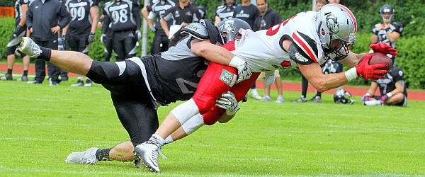 Hamburg Huskies Berlin Rebels GFL 2016 Football