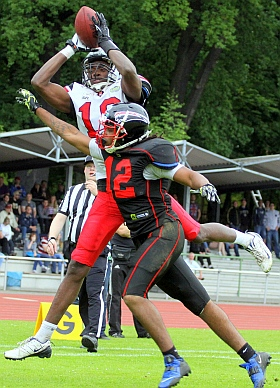 Hamburg Huskies Düsseldorf Panther GFL 2016 Football