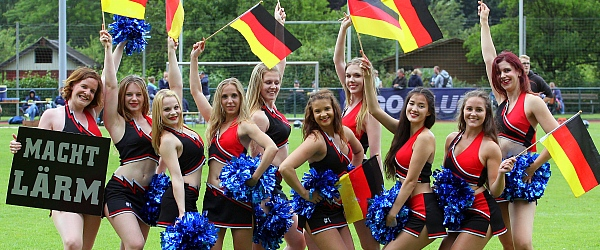 Starlets Cheerleader Norderstedt Mustangs Football 2016