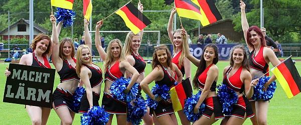 Starlets Cheerleader Norderstedt Mustangs Football 2016