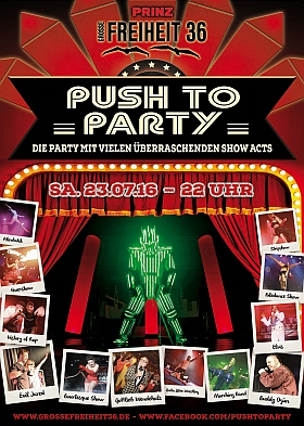 Push to Party Grosse Freiheit Hamburg 2016
