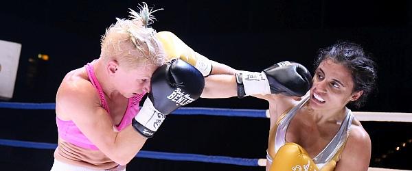 Susi Kentikian Nevenka Mikulic WM Boxen Hamburg 2016