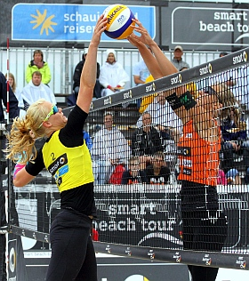smart beach tour Sankt Peter Ording Nordsee Volleyball 2016