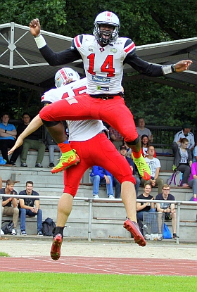 Hamburg Huskies Kiel Baltic Hurricanes Football GFL 2016
