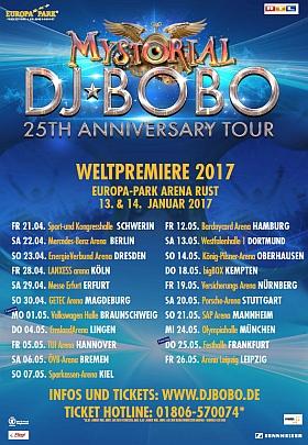 DJ BoBo Mystorial Tour 2017